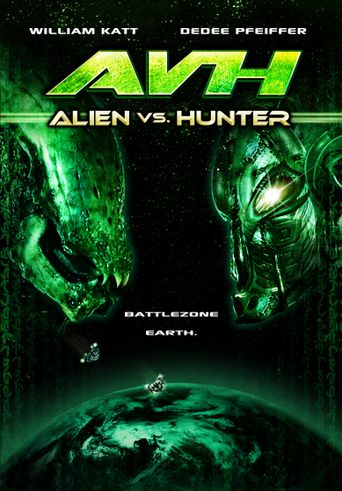 AVH: Alien vs. Hunter Poster