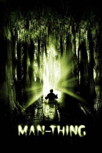 Man-Thing Poster