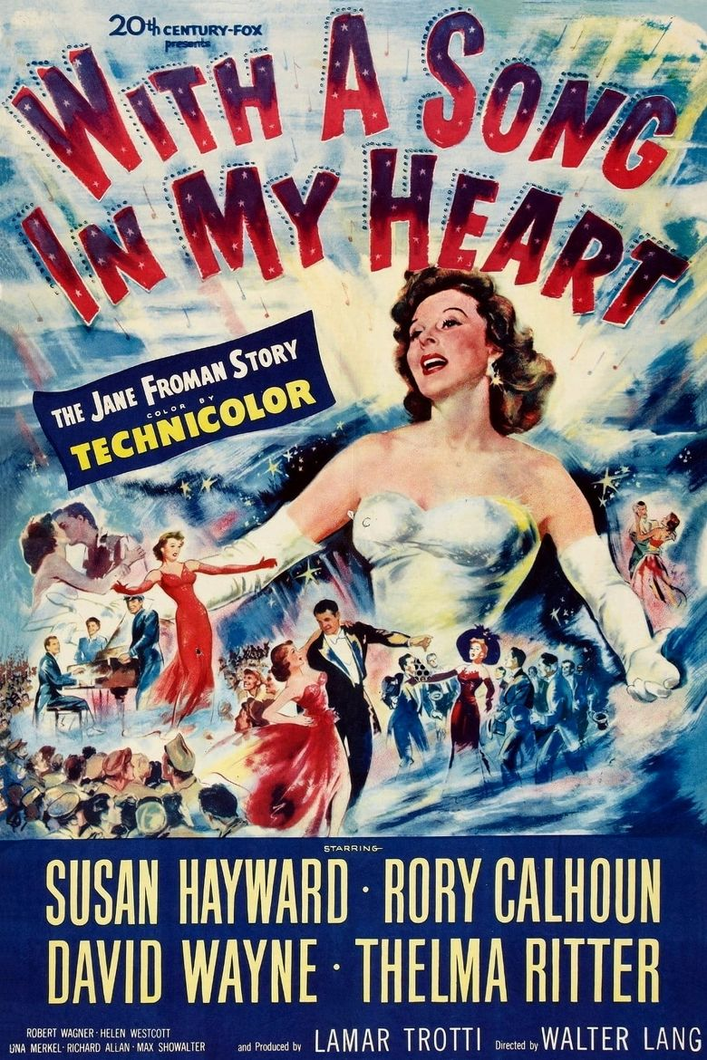 With a Song in My Heart Poster