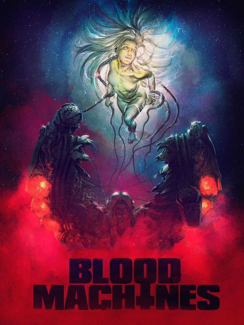 Blood Machines Poster