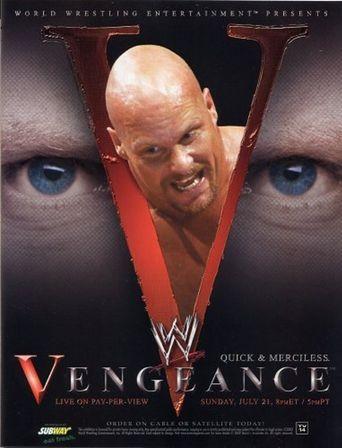 WWE Vengeance 2002 Poster