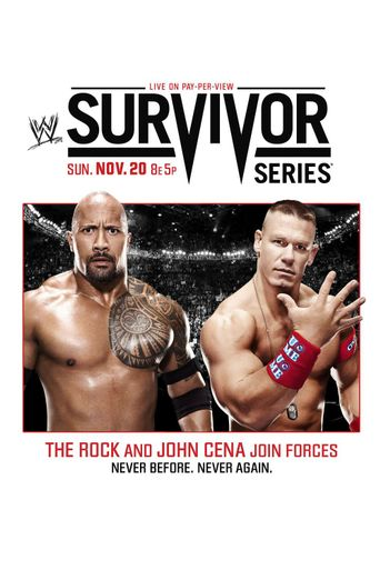 WWE Survivor Series 2011 Poster