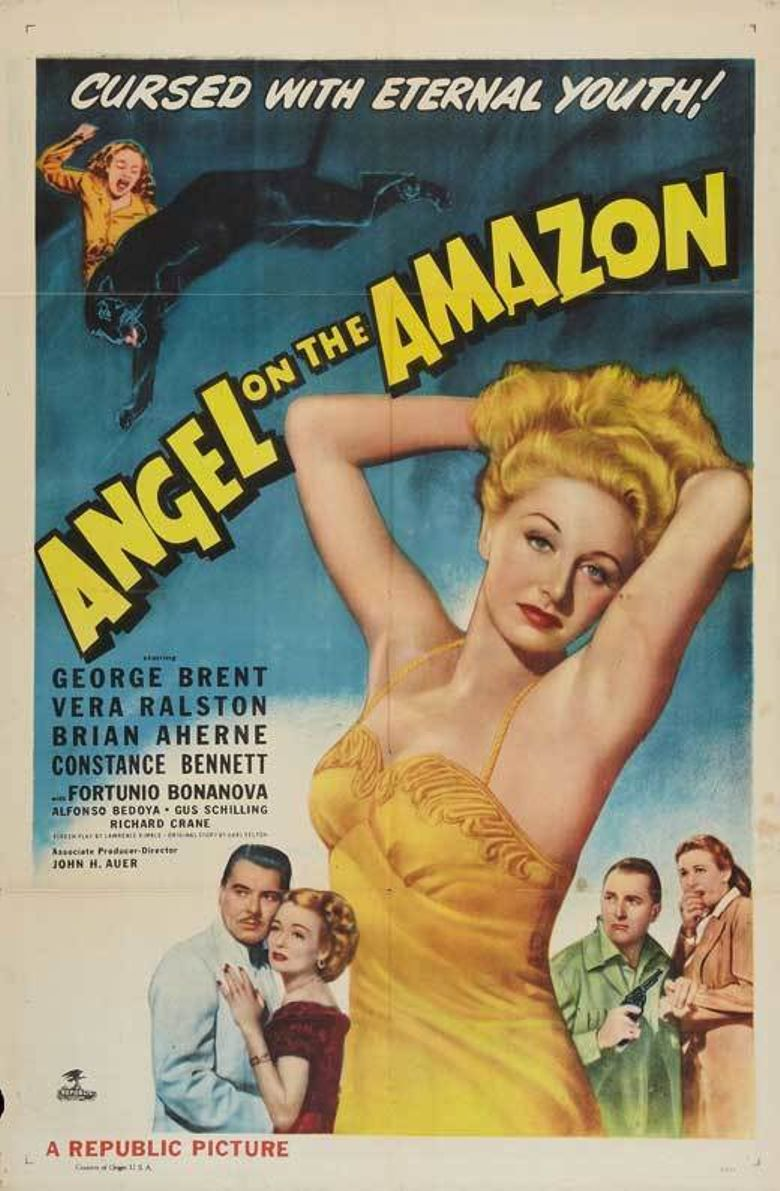 Angel on the Amazon Poster