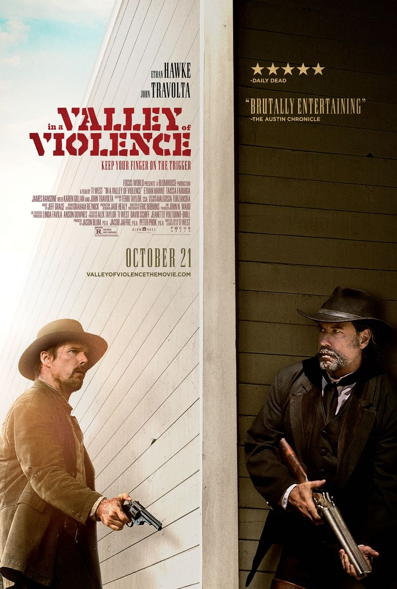 In a Valley of Violence Poster