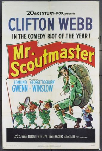 Mister Scoutmaster Poster