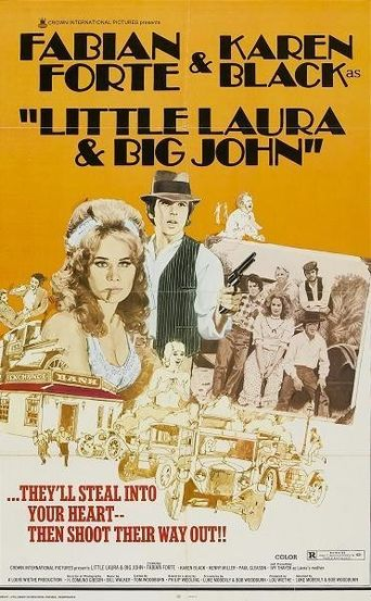 Little Laura and Big John Poster