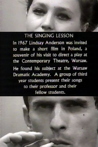 The Singing Lesson Poster