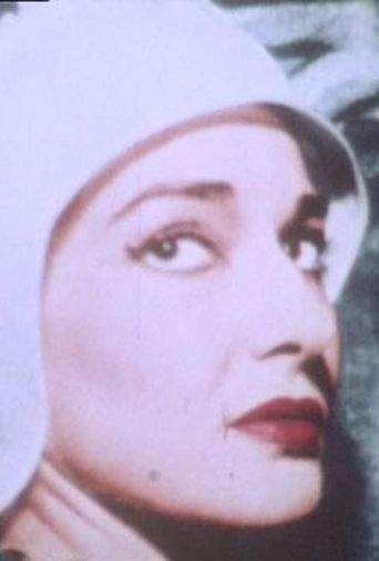 Maria Callas Porträt Poster