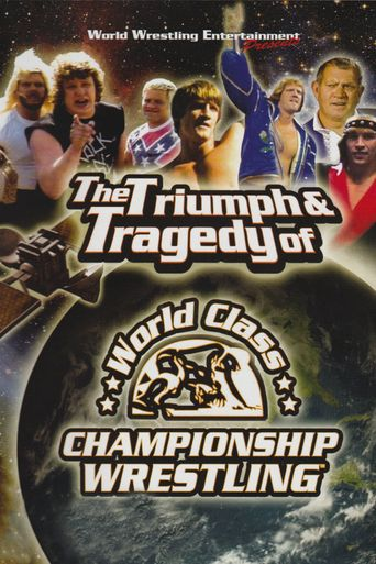 WWE: The Triumph and Tragedy of World Class Championship Wrestling Poster