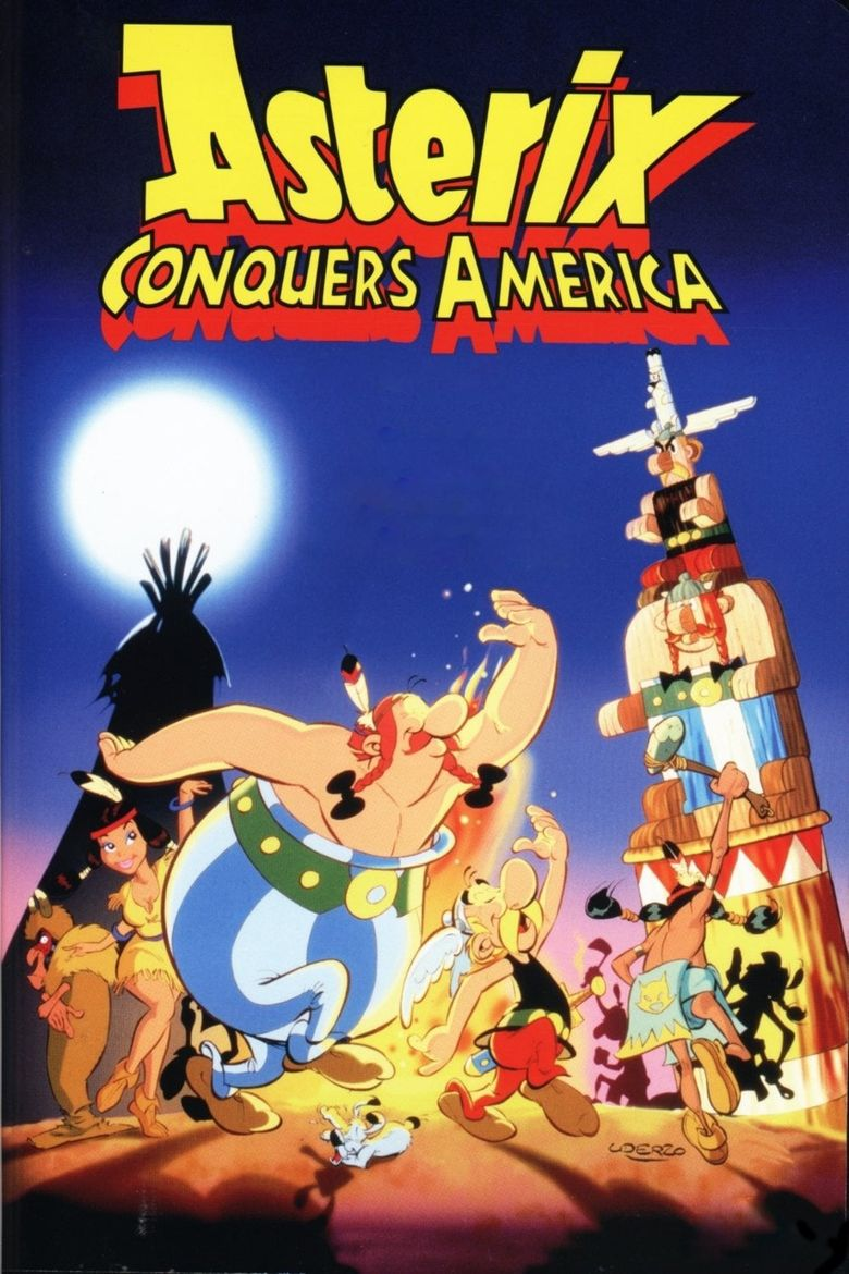 Asterix Conquers America Poster