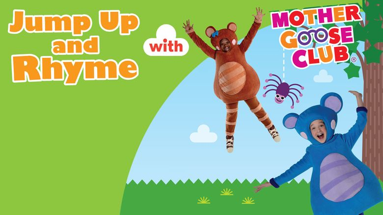 Jump Up and Rhyme with Mother Goose Club Poster
