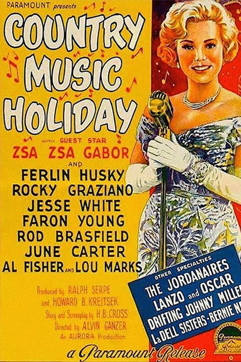 Country Music Holiday Poster