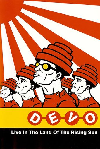 Devo Live in the Land of the Rising Sun Poster