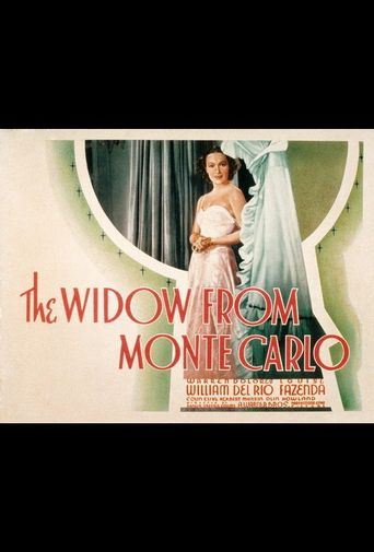 The Widow from Monte Carlo Poster