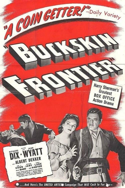 Buckskin Frontier Poster