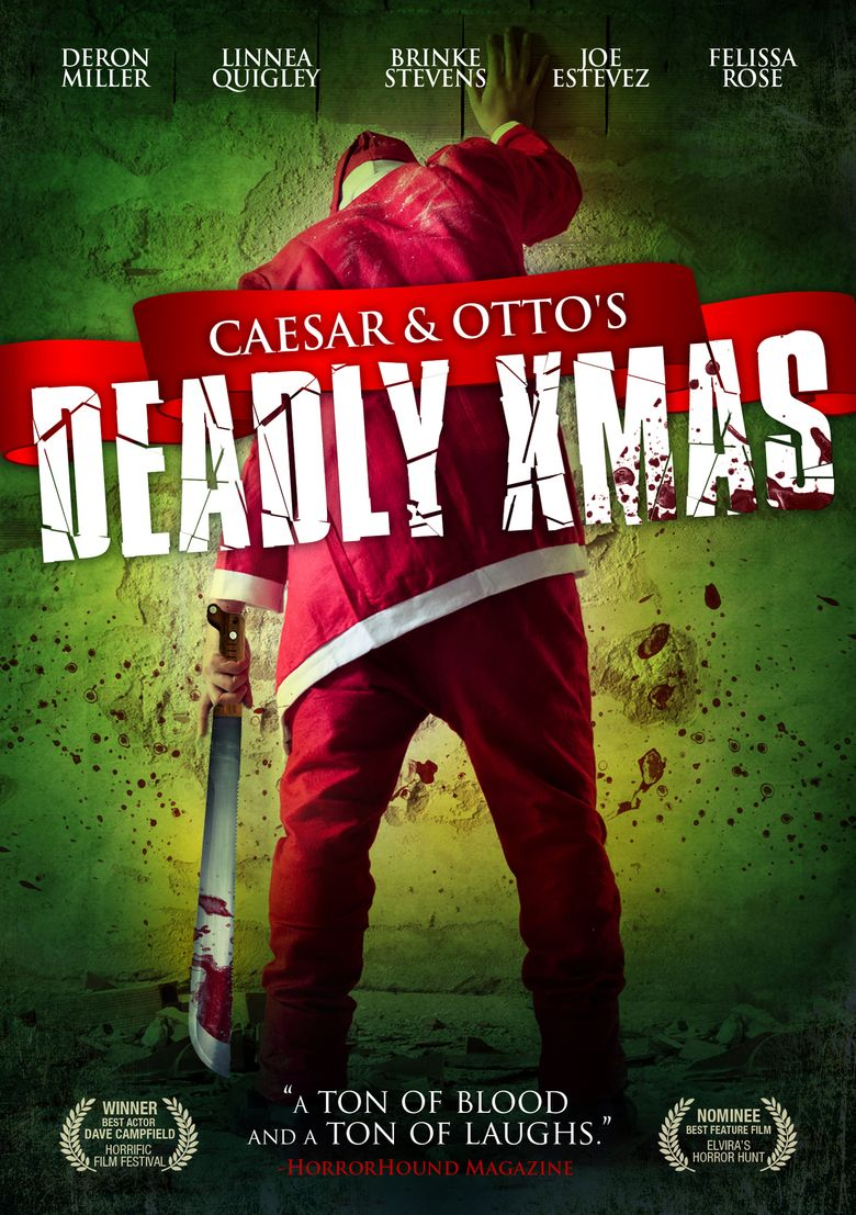 Caesar and Otto's Deadly Xmas Poster
