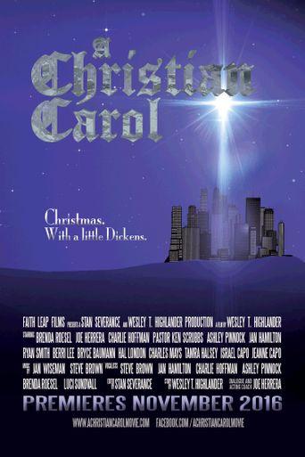 A Christian Carol Poster