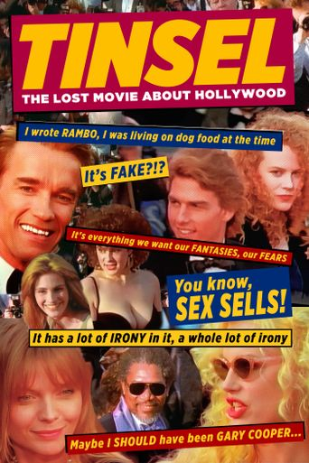 TINSEL: The Lost Movie About Hollywood Poster