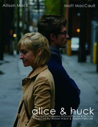 Alice and huck Poster
