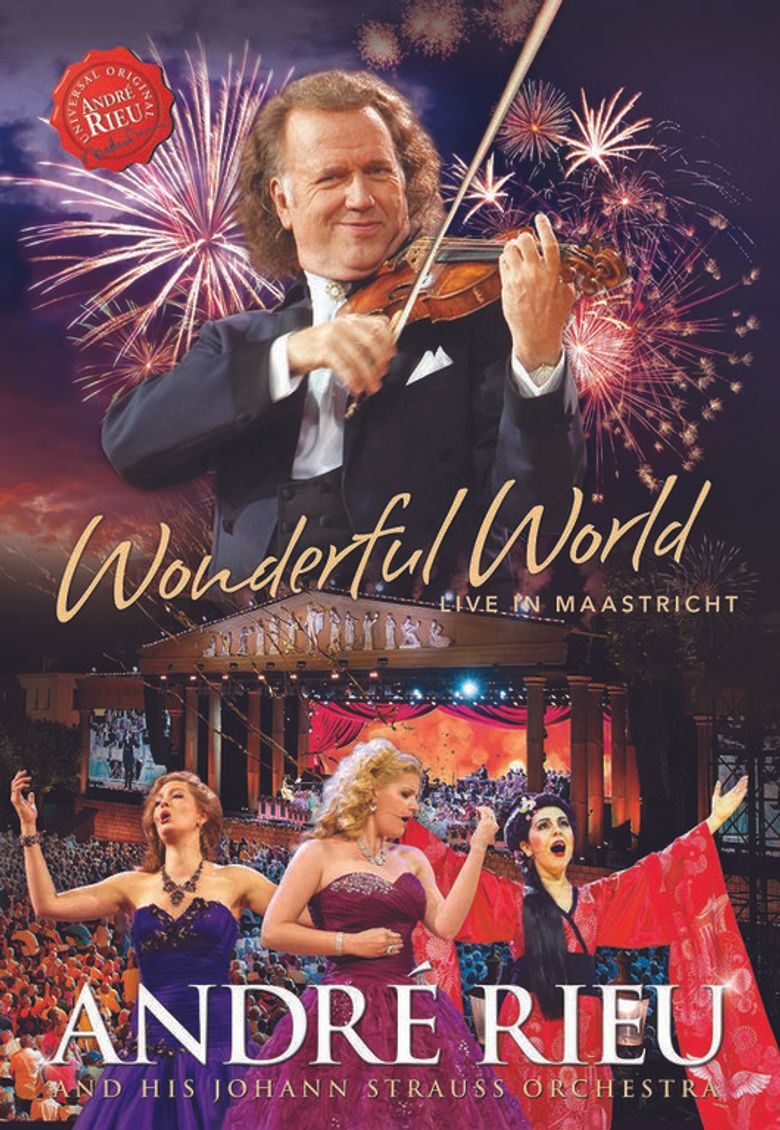 André Rieu: Wonderful World - Live In Maastricht Poster
