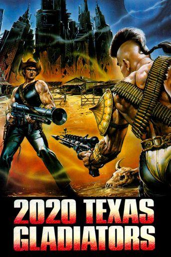 2020 Texas Gladiators Poster
