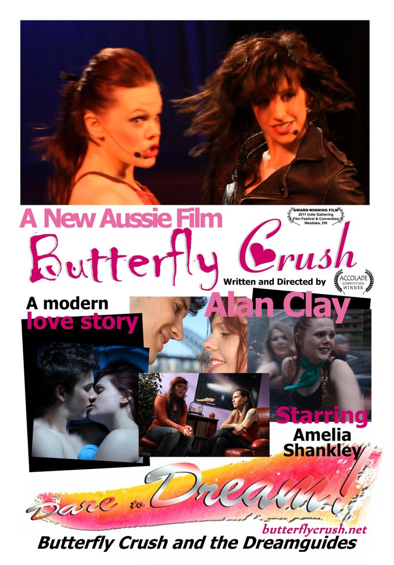 Butterfly Crush Poster