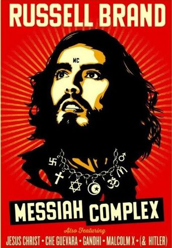 Russell Brand: Messiah Complex Poster