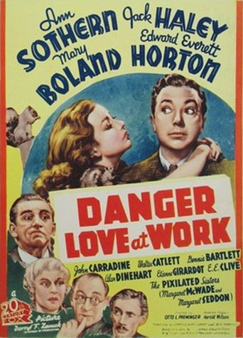 Danger - Love at Work Poster