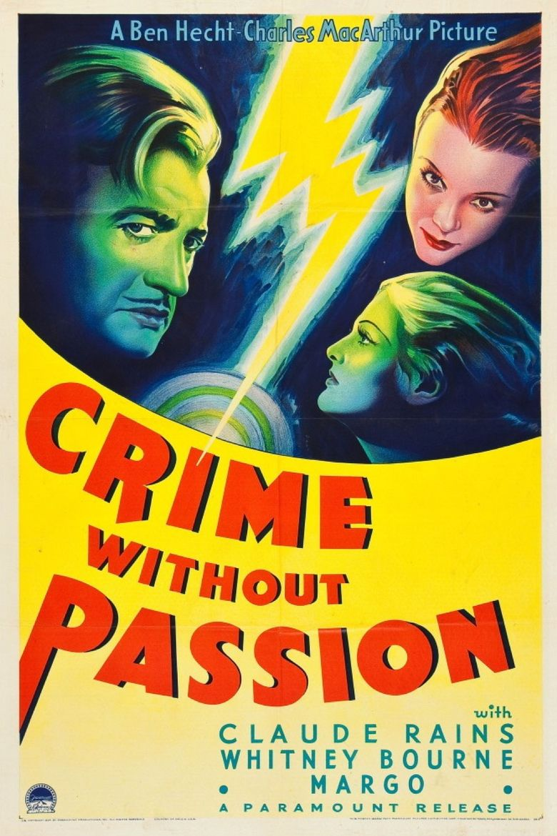 Crime Without Passion Poster
