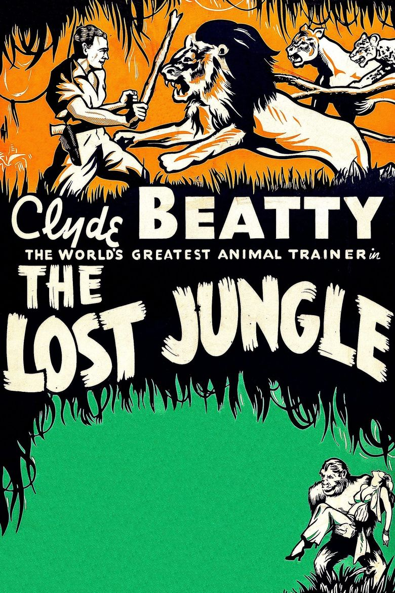 The Lost Jungle Poster