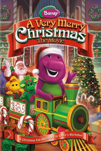 Barney: A Very Merry Christmas: The movie Poster