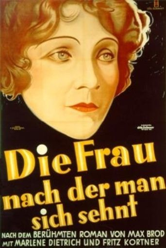 The Woman Men Yearn For Poster