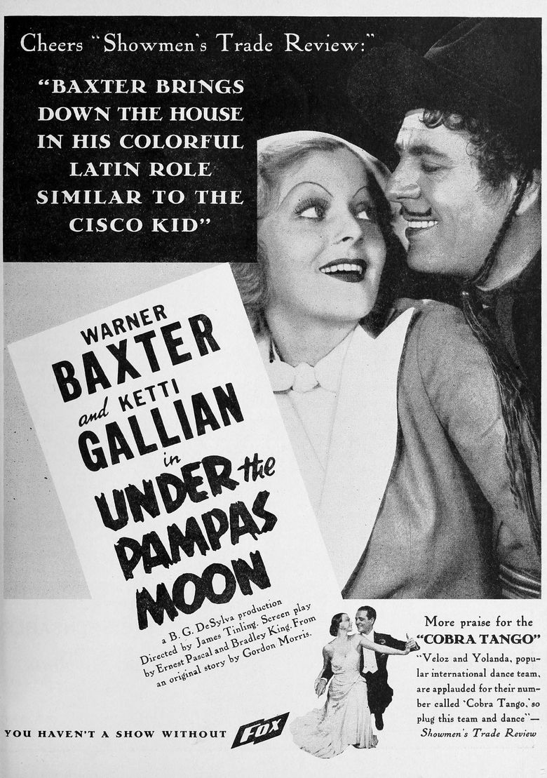 Under the Pampas Moon Poster