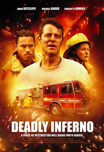 Deadly Inferno Poster