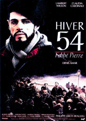 Hiver 54, l'abbé Pierre Poster