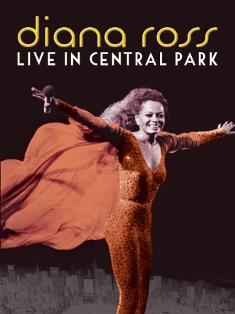 Diana Ross: Live in Central Park Poster