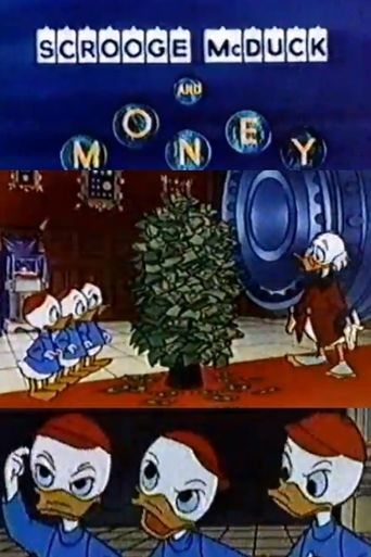Scrooge McDuck and Money Poster