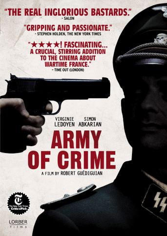 Watch Army of Crime
