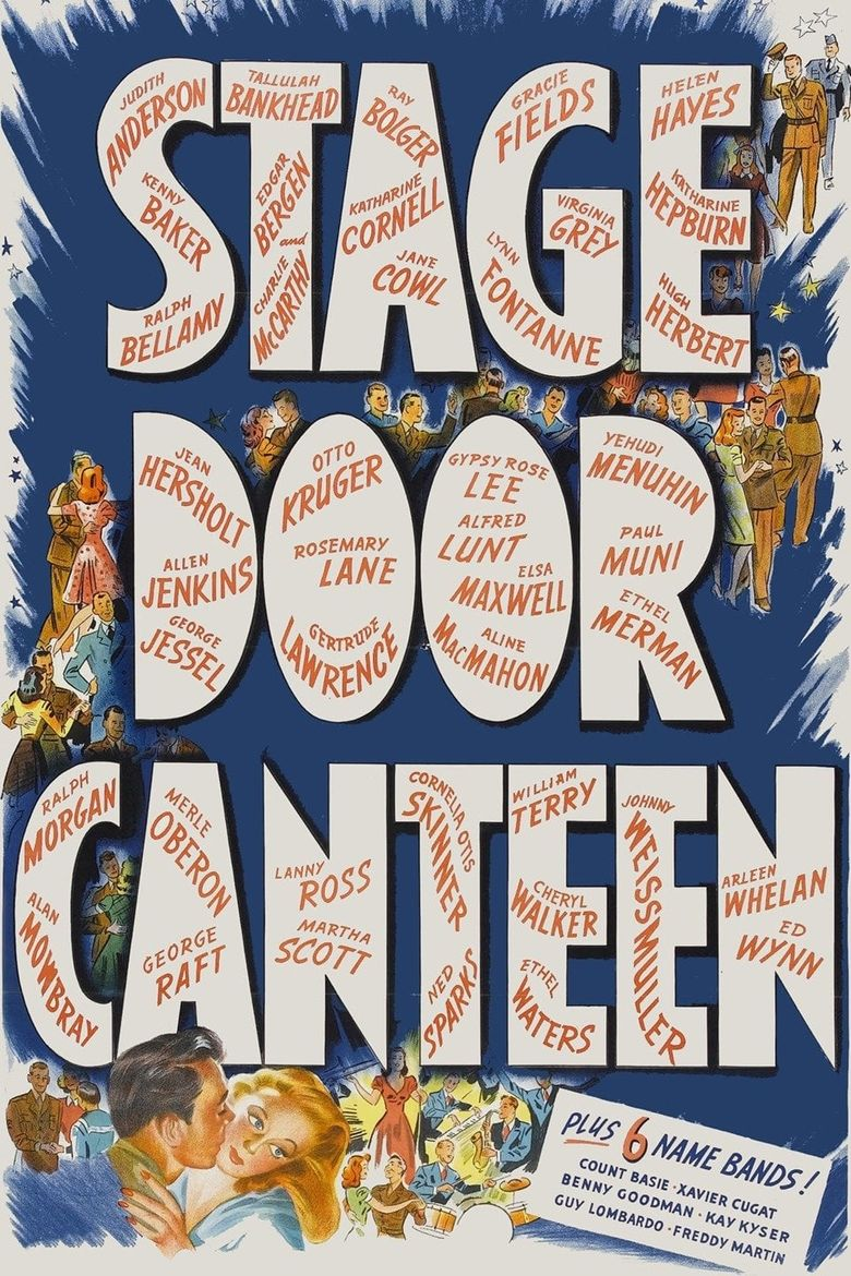 Stage Door Canteen Poster