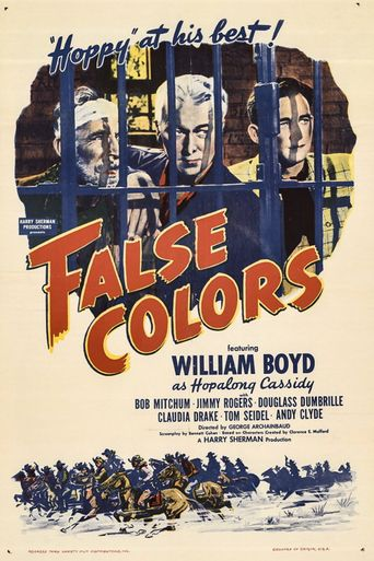 False Colors Poster