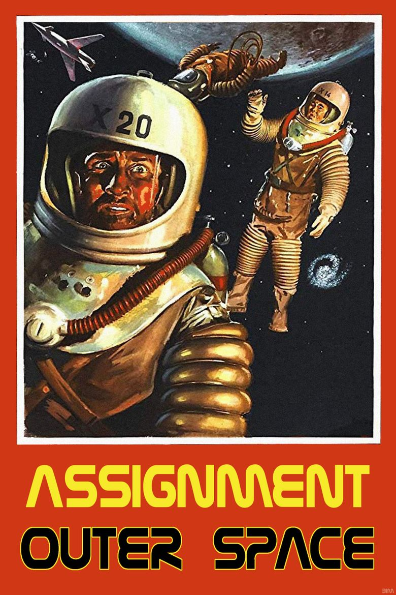 Assignment: Outer Space Poster