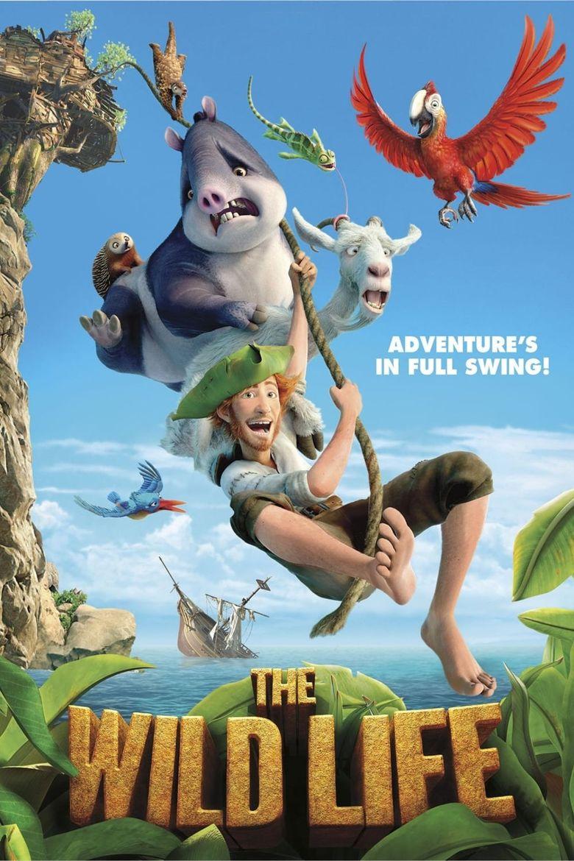 Robinson Crusoe: The Wild Life Poster