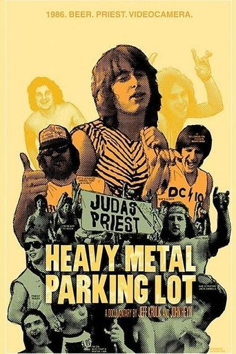 Heavy Metal Parking Lot Poster