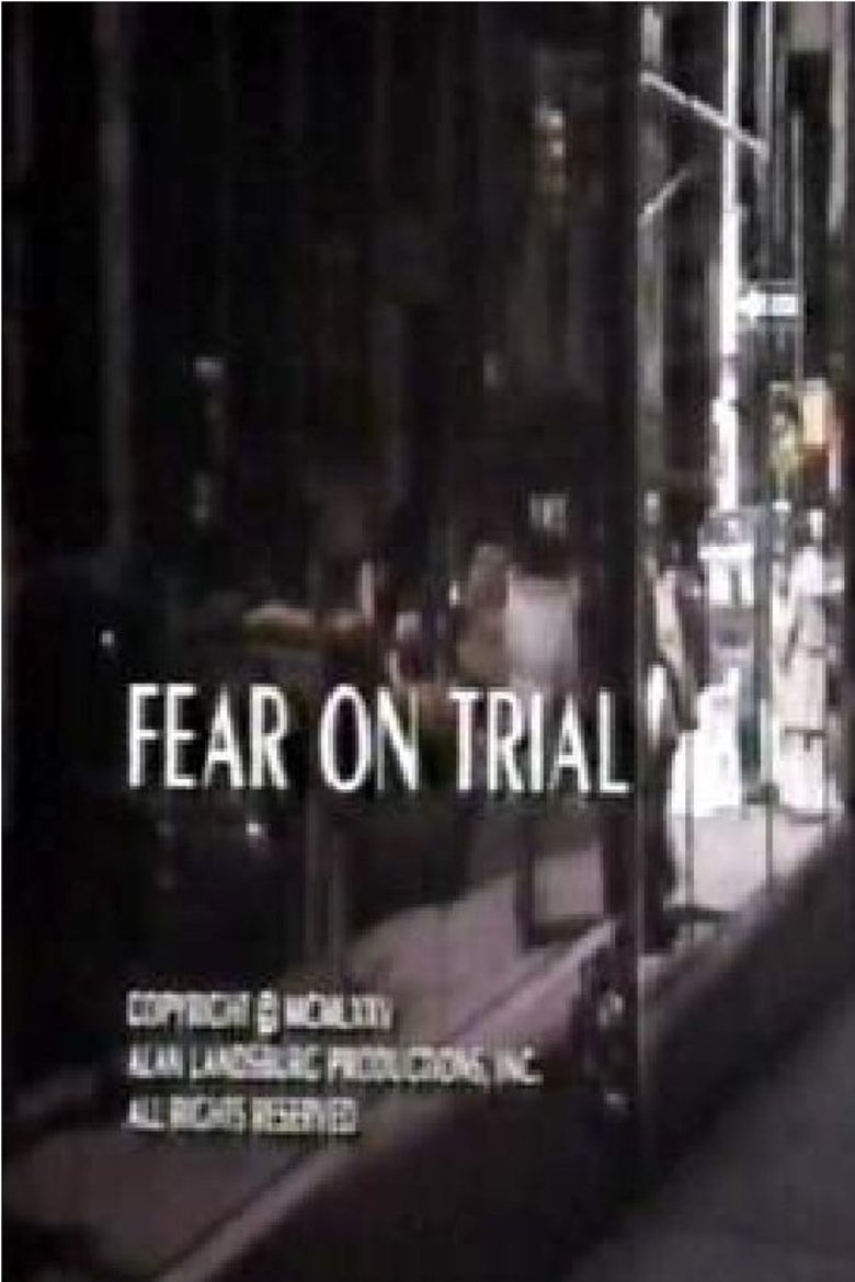 Fear on Trial Poster