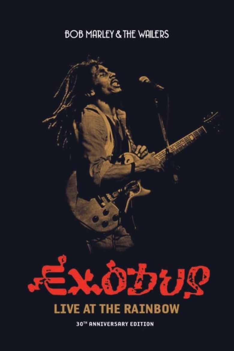 Bob Marley and the Wailers: Live! Poster