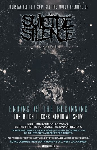 Suicide Silence: Ending Is the Beginning.. (The Mitch Lucker Memorial Show) Poster