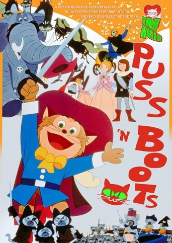 The Wonderful World of Puss 'n Boots Poster