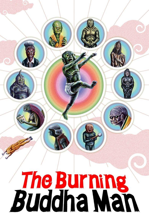 The Burning Buddha Man Poster