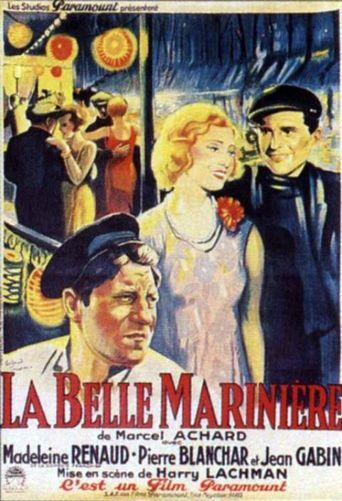 La belle marinière Poster
