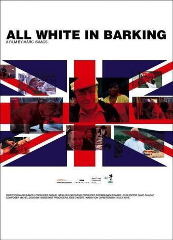 All White in Barking Poster
